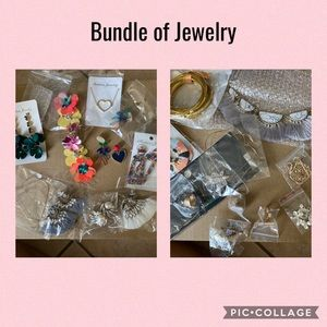 18 pieces Bundle of jewelry great for resale